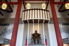 Sun-yat-sen statue in Memorial Hall. royalty free stock photo