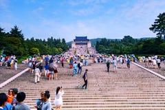 Sun Yat-sen in the tourist season Royalty Free Stock Photos