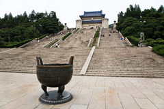 Sun Yatsen Mausoleum royalty free stock image