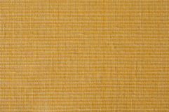 Sun yellow Ripstop fabric. Close up of yellow cotton ripstop cloth Stock Photo
