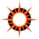 Sun-Zeichen Lizenzfreie Stockbilder