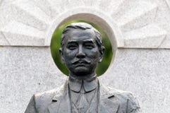 Sun Zhongshan statue. Zhongshan, China - December 8, 2012: Zhongshan city qijiang  terminal Stock Images