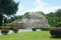 Sun Zhongshan statue Royalty Free Stock Images