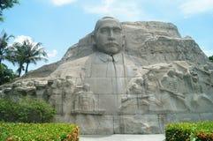 Sun Zhongshan statue Royalty Free Stock Image
