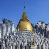 Bago - Sunamuni relikskrin - Myanmar Arkivbild