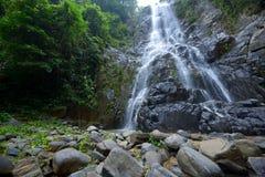 Sunanta瀑布是美丽的瀑布泰国 免版税库存图片