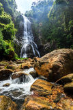 Sunanta Waterfall in Khao Nan National Park Stock Photo