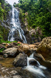 Sunanta Waterfall in Khao Nan National Park Royalty Free Stock Image