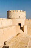 Sunaysilah Castle or Fort in Sur. Oman Stock Photos