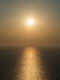 SunBacklight and Sunset Royalty Free Stock Image