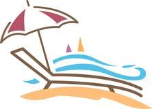 sunbath illustration libre de droits