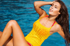 Sunbath Stock Image