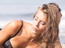 Sunbath Royalty Free Stock Image