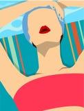 sunbathe Photographie stock libre de droits