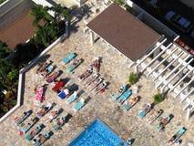 Sunbathers havaianos fotografia de stock royalty free