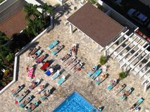 Sunbathers hawaiani Fotografia Stock Libera da Diritti