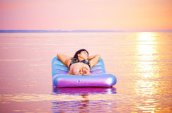 Sunbathing Imagens de Stock Royalty Free
