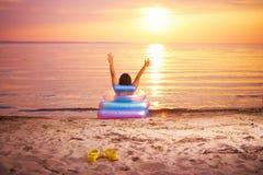 Sunbathing Imagens de Stock