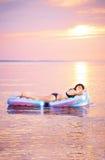 Sunbathing Imagem de Stock Royalty Free