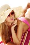 Sunbathing Foto de Stock