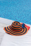 Sunbathing accessories Royalty Free Stock Photo