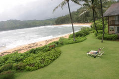 Sunbathing em Kauai Foto de Stock Royalty Free