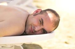 Sunbathing Stock Images