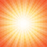 sunbeam Royaltyfri Bild