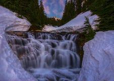 Sunbeam Creek Falls Stock Images