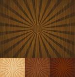 sunbeam drewniany Obrazy Stock