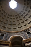 Sunbeam Through Oculus Ceiling Pantheon Rome Royalty Free Stock Photo