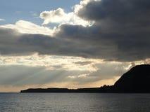 Sunbeam Seascape Stock Photos