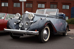 Sunbeam Talbot Soft top convertible. An outstanding lovely & pristine example of this beautiful classic luxury convertible motorcar from a bygone age Stock Images