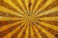 Sunbeam on texture. Old texture with sunbeam for your designs Stock Images