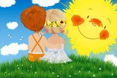 sunbeams Стоковое Изображение RF