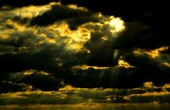 sunbeams Stock Afbeeldingen