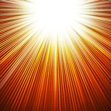 Sunbeams abstract background. Sunbeams dawn or rise  abstract vector illustration background Stock Photos