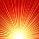 Sunbeams abstract background. Sunbeams dawn or rise  abstract vector illustration background Stock Images