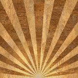Sunbeams abstract background - Sunburst style. Sunbeams abstract background - Radial background - Sunburst style - Vintage Design Template - wood texture Stock Image