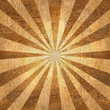 Sunbeams abstract background - Sunburst style. Sunbeams abstract background - Radial background - Sunburst style - Vintage Design Template - wood texture Royalty Free Stock Image