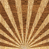 Sunbeams abstract background - Sunburst style. Sunbeams abstract background - Radial background - Sunburst style - Vintage Design Template - wood texture Royalty Free Stock Photos