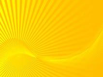 Sunbeams abstratos Fotos de Stock Royalty Free