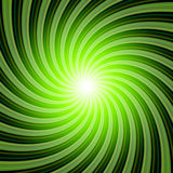 Sunbeams background green black 02. Background with green and black stripes stock illustration