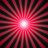 Sunbeams background red black 01. Background with red and black stripes Royalty Free Stock Photography
