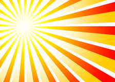 Sunbeams background red orange 01 Royalty Free Stock Images