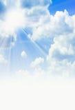 Sunbeams brilhantes Fotos de Stock