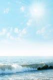 Sunbeams brilhantes Imagens de Stock