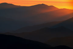 Sunbeams Great Smoky Mountains Stock Photos