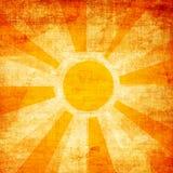 Sunbeams grunge background Stock Photography