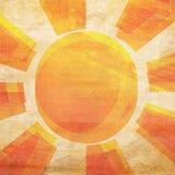 Sunbeams grunge background Stock Images